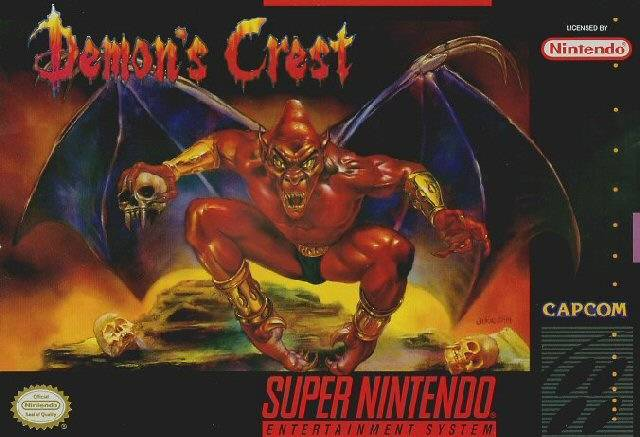 Demon's Crest Of the many incredible platformers for the SNES, Demon's Crest remains one of the most underrated an overlooked (even if more and more retrospectives have been kind to it, it deserves to be considered alongside the Mega Man X, Donkey Kong Country and Super Mario World franchises). The third installment in the Gargoyle's Quest series that began on the Game Boy, Demon's Crest is also—unfortunately—the final game in the Ghosts 'n Goblins spin-off trilogy that follows Firebrand, that frustratingly hard-to-hit enemy from the main series. While game mechanics and a balance between challenge and reward typically bolster a platformer like this into ranks of the elite, Demon's Crest is so memorable for its tone and atmosphere. Like Super Castlevania IV and Super Metroid, Demon's Crest is a moody piece with a dark color palette that is as immersive as many of the great RPGs for the console without the benefit of a carefully-constructed story. And although it is less an RPG-hybrid that the original Gargoyle's Quest, its free-roam overworld and Crest scheme, which allows you to gain and use different abilities to complete the platforming challenges, separate the game from more streamlined platformers, such as the aforementioned Donkey Kong Country games. A relatively short game to complete, Demon's Crest remains immensely replayable because of its ability to give the gamer such an engrossing experience, helped by yet another incredible OST (this is very much a common thread of the SNES greats). At a time when it seemed liked Capcom could do no wrong, Demon's Crest is an example of true creativity, crafting a whole world around a throwaway enemy from a completely different series and delivering the third part of one of the most underrated series of all time.