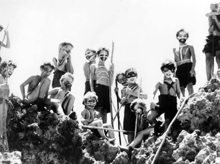 the innocence of savagery in the movie lord of the flies directed by peter brook First published in 1954, william golding's debut novel, now a classic, is a stark story of survival, probing the depths of human nature, and what happens when.