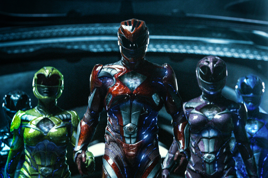 Power Rangers in Armour