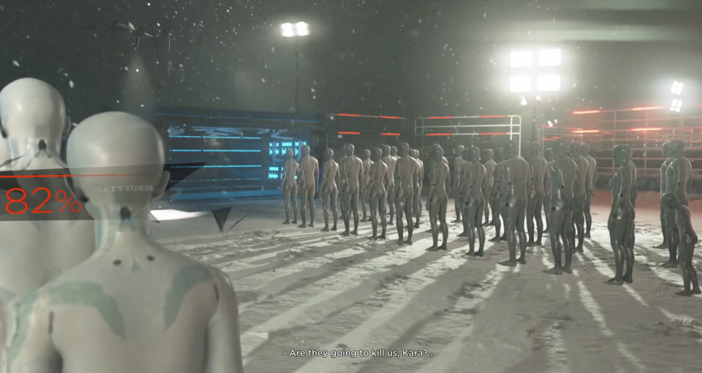 Image result for detroit become human concentration camp
