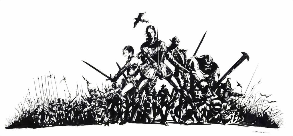 Final Fantasy XI concept art