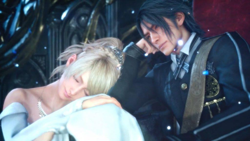 Noctis and Luna: Final Fantasy XV's leading couple