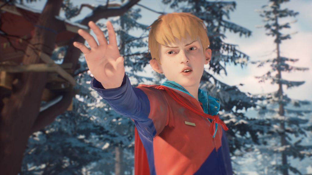Captain Spirit possesses a range of powers