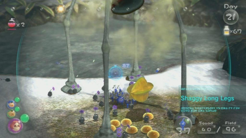 Pikmin 3 Level By Level Distant Tundra Goomba Stomp