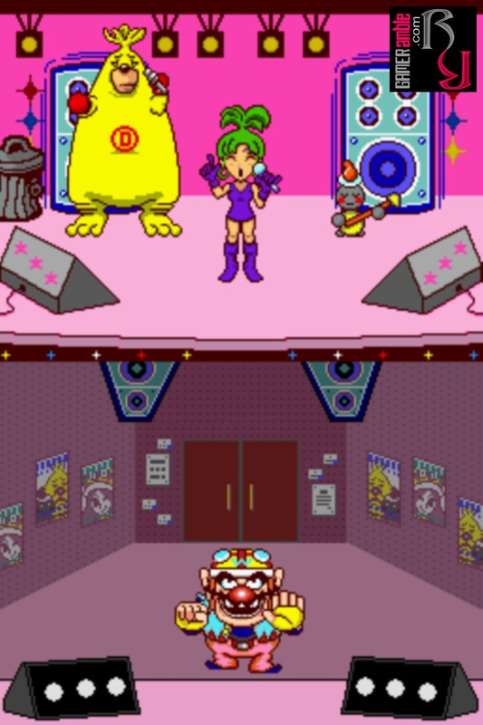wario ware touched