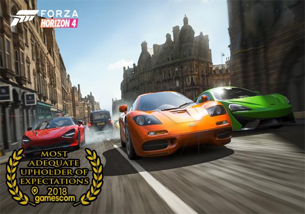 Gamescom 2018 Forza Horizon 4
