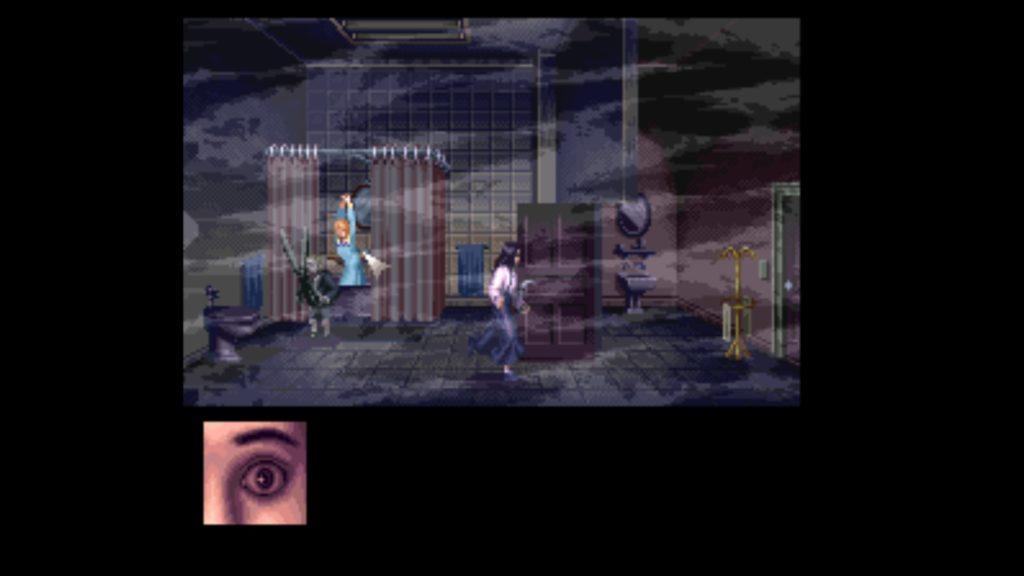 Clock Tower - Scissorman chases Jennifer
