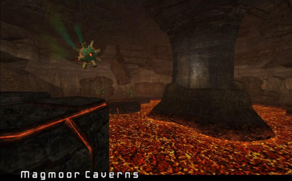 metroid prime magmoor caverns