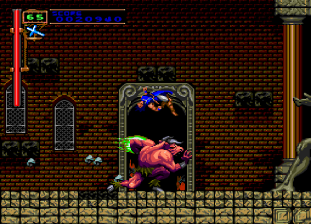 Rondo of Blood Jump