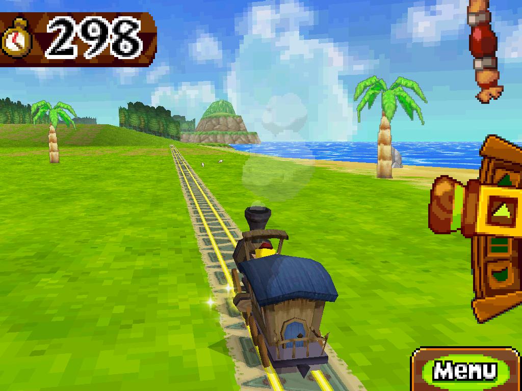 Spirit Tracks train