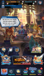 Dragalia Lost Home Screen Cafe