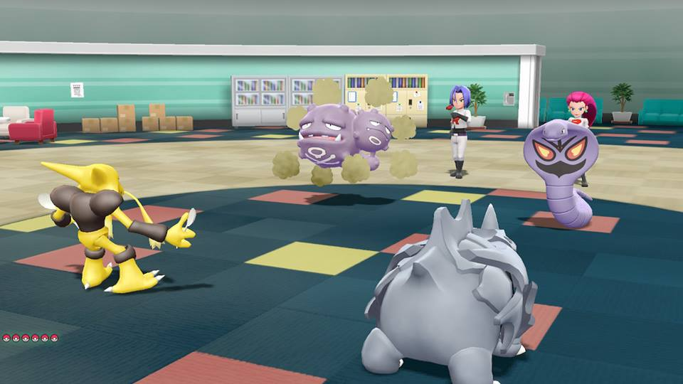 Team Rocket Pokémon Let's Go