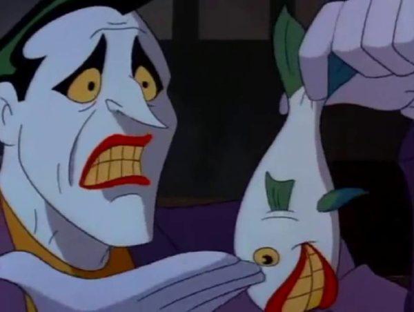 Mark Hamill's version as the Joker