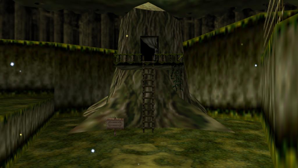 Ocarina of time kokiri forest