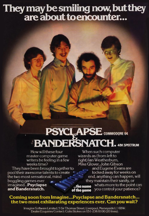 Bandersnatch Poster Game